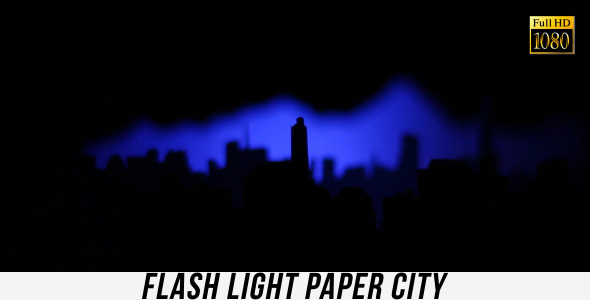 Flash Light Paper City 3