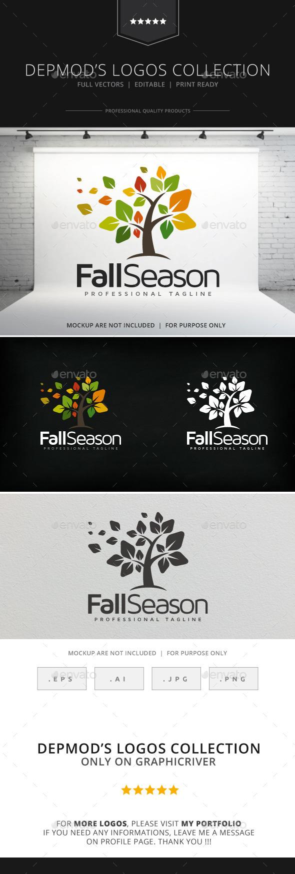 GraphicRiver Fall Season Logo 9120906
