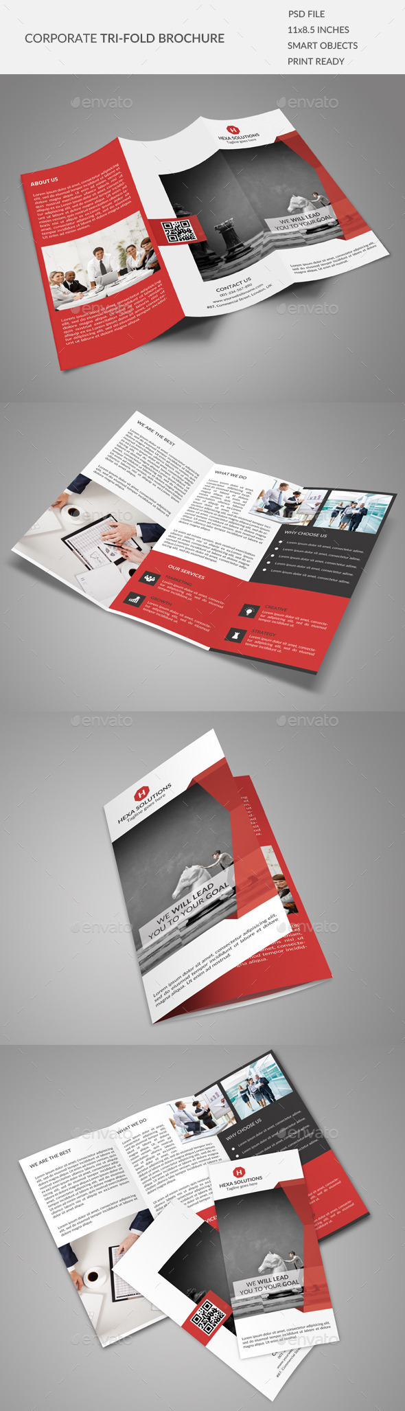 GraphicRiver Corporate Tri-fold Brochure 02 9120992