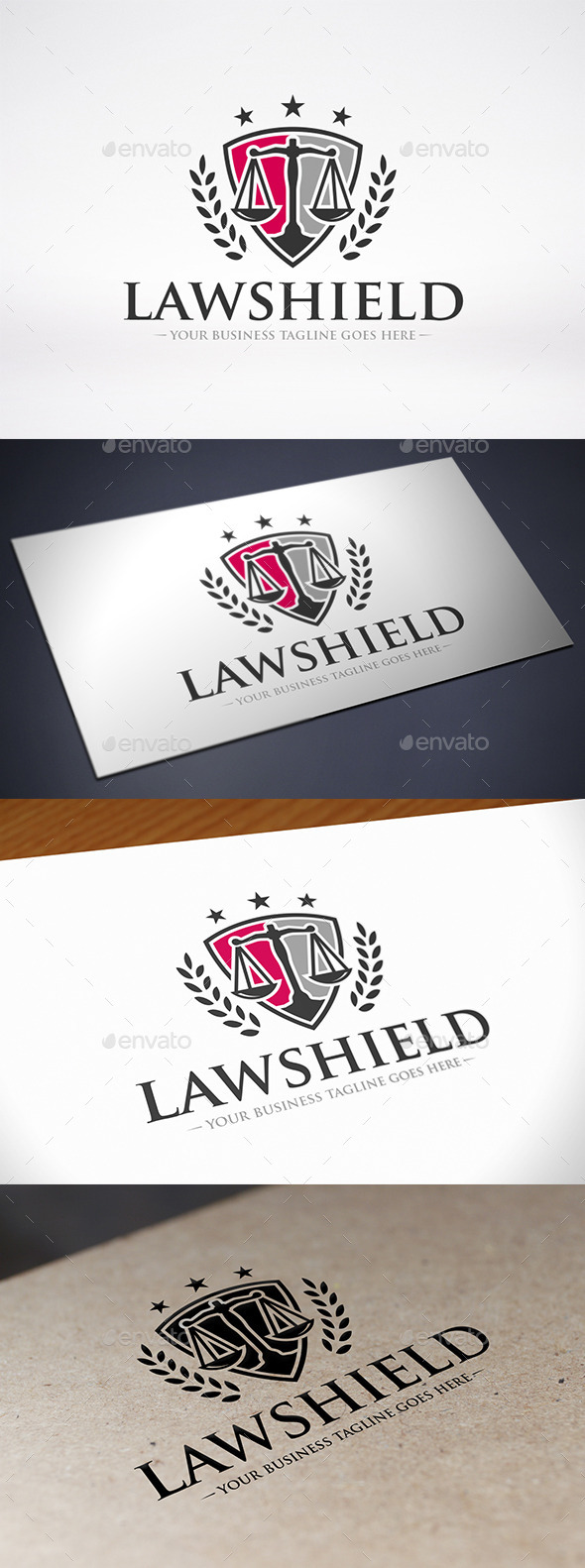 GraphicRiver Law Logo Template 9121072