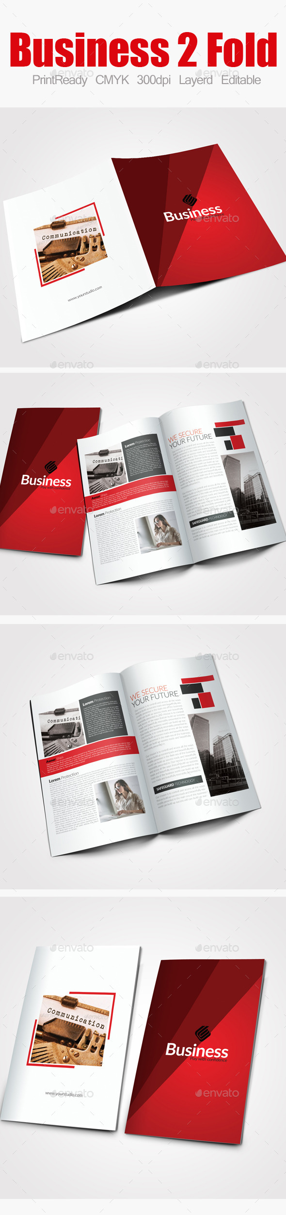 GraphicRiver Bi Fold Business Brochure 9083324