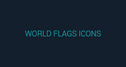 World Flags Icons [Flat & Glossy]