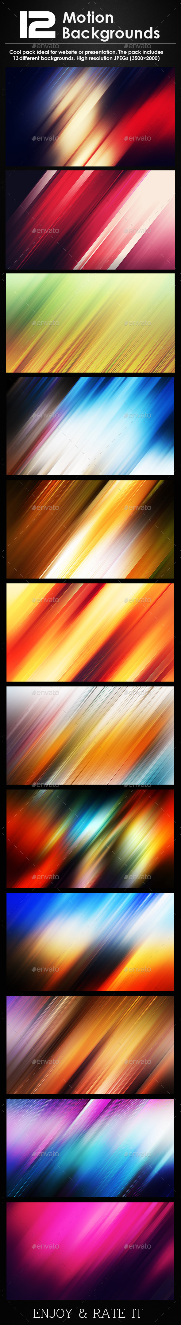 GraphicRiver 13 Motion Backgrounds 9121347