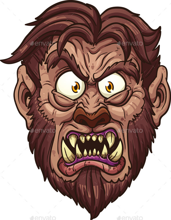 GraphicRiver Werewolf Face 9121393