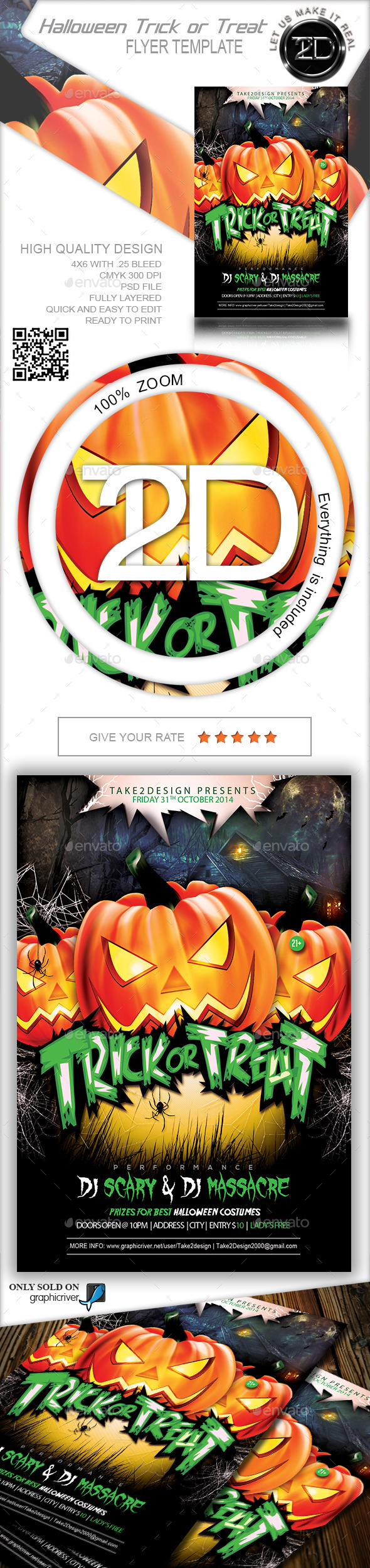GraphicRiver Halloween Trick or Treat 9121729