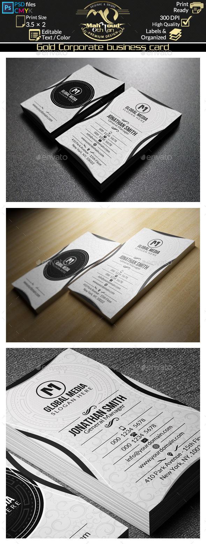 GraphicRiver Elegant Corporate Business Card 52 9121769