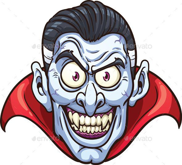 GraphicRiver Vampire Face 9121794