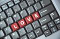 Love key on keyboard - PhotoDune Item for Sale