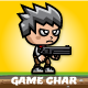 Shooter Boy Game Character Sprite Sheets - GraphicRiver Item for Sale