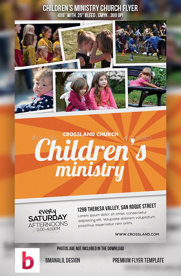 Children s Ministry Church Flyer