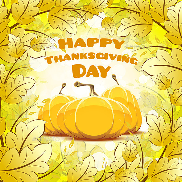 GraphicRiver Happy Thanksgiving Day Card 9121993