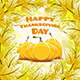 Happy Thanksgiving Day Card - GraphicRiver Item for Sale