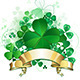 Clover with Banner - GraphicRiver Item for Sale