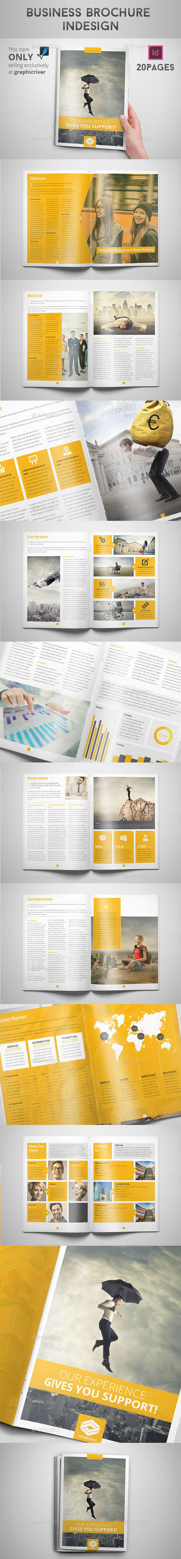 Business Brochure Indesign