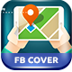 Map Finder FB Cover - GraphicRiver Item for Sale