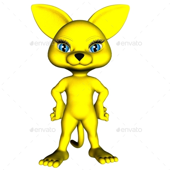 GraphicRiver Neko Yellow 9123032