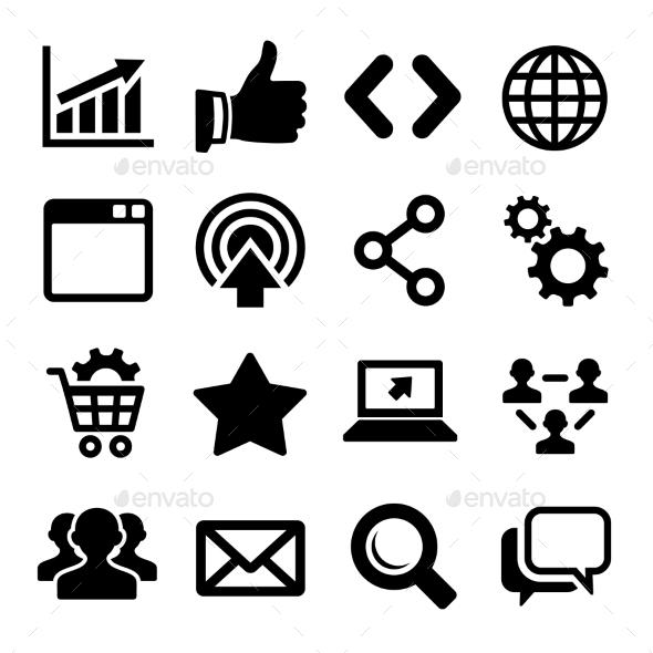 GraphicRiver Seo Icons Set 9123058