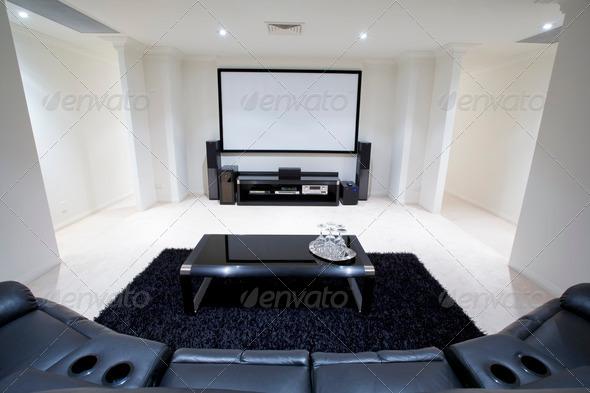 PhotoDune Home Theatre Room 933414