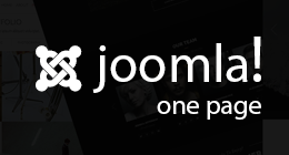 Joomla! One Page Templates