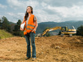 female construction worker - PhotoDune Item for Sale