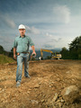 confident engineer on construction site - PhotoDune Item for Sale
