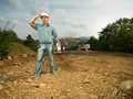 male engineer on construction site - PhotoDune Item for Sale