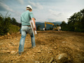 male construction worker on worksite - PhotoDune Item for Sale