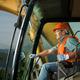 happy excavator driver - PhotoDune Item for Sale