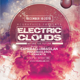 Electric Clouds Flyer Template - GraphicRiver Item for Sale