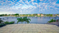 Balcony views from waterfront Mansion overlooking the canal - PhotoDune Item for Sale