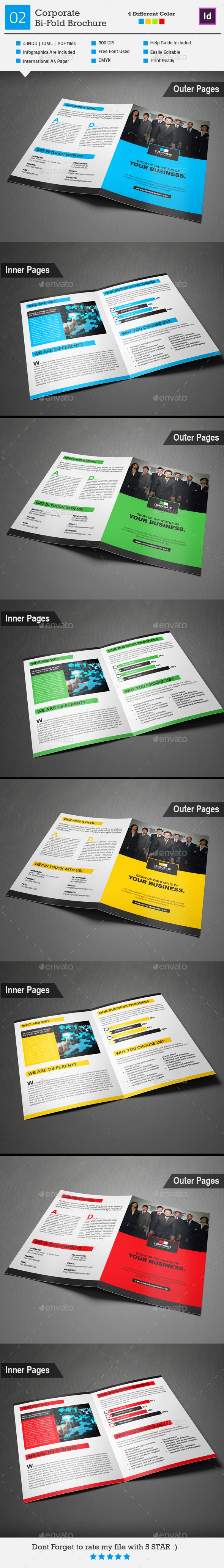 GraphicRiver Corporate Bi-Fold Brochure 02 9126782