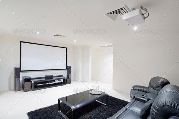PhotoDune Home Theatre Room 933400