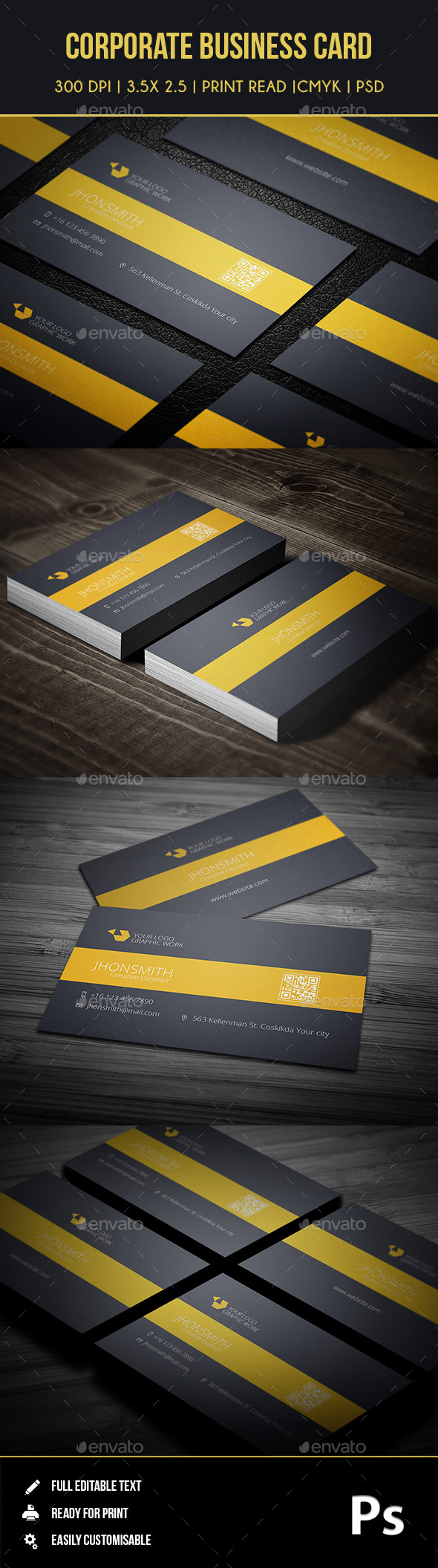 GraphicRiver Corporate Business Card 01 9126973