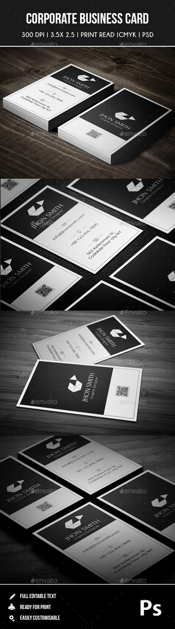 GraphicRiver Corporate Business Card 02 9126976