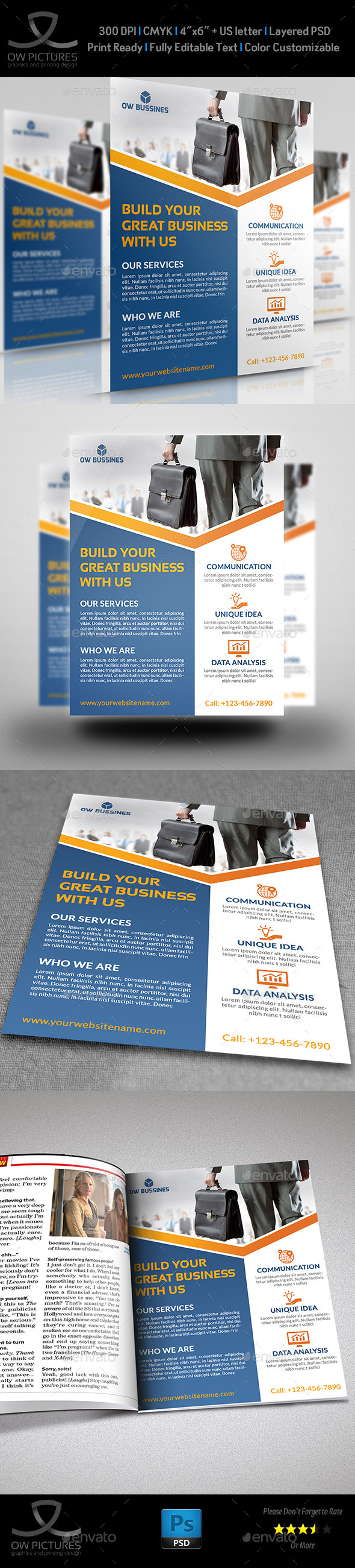 GraphicRiver Corporate Business Flyer Template Vol.15 9126988