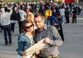 Couple with a Map in a Crowded City  - PhotoDune Item for Sale