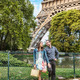 Young Couple Near the Eiffel Tower  - PhotoDune Item for Sale