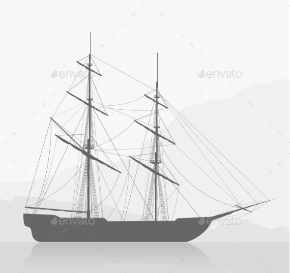 GraphicRiver Sailing Ship 9127085