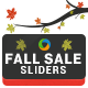 Fall Sale Sliders - GraphicRiver Item for Sale