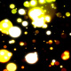 Floating dark  Blobby Particles Rotating - VideoHive Item for Sale