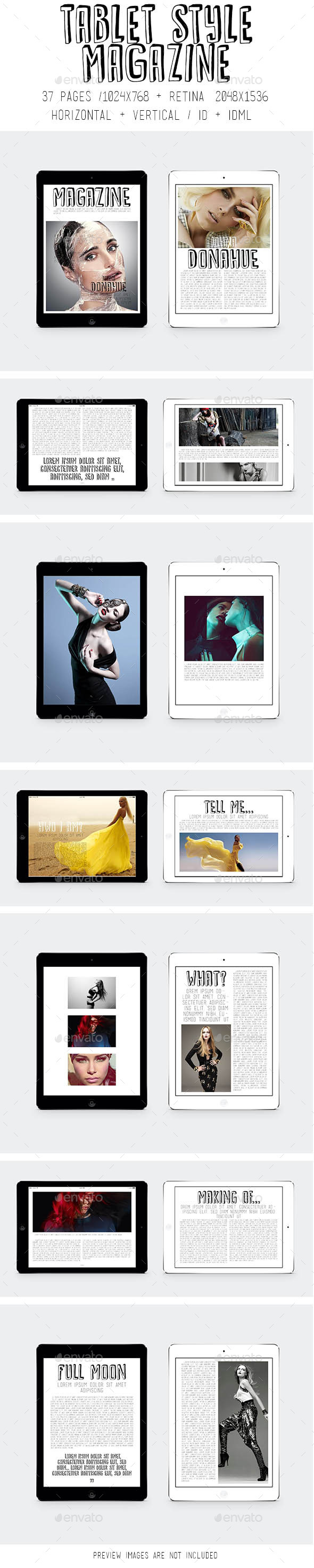 GraphicRiver Tablet Style Magazine 9128000