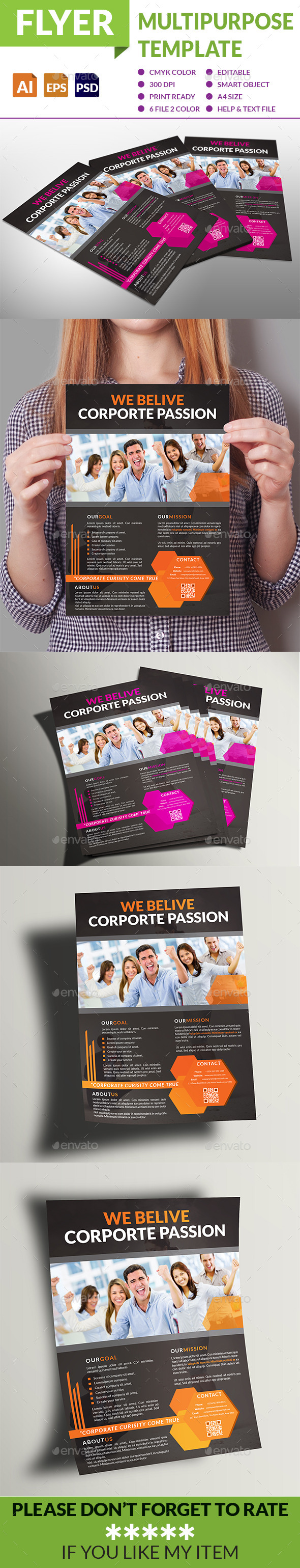 GraphicRiver Multipurpose Business Flyer 9127997
