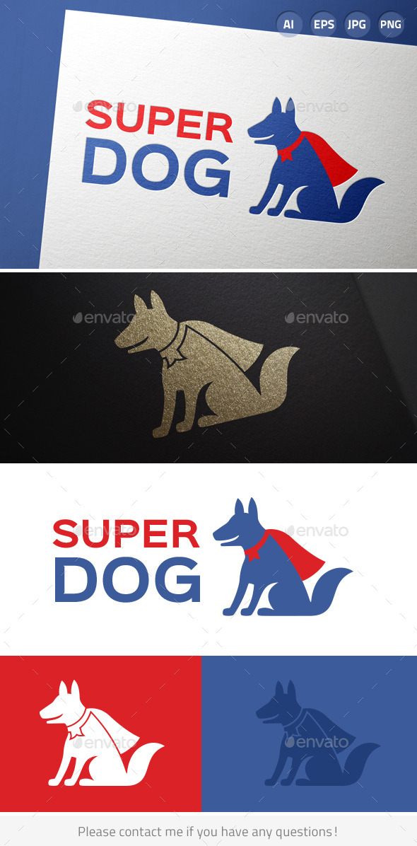 GraphicRiver Super Dog 6898182