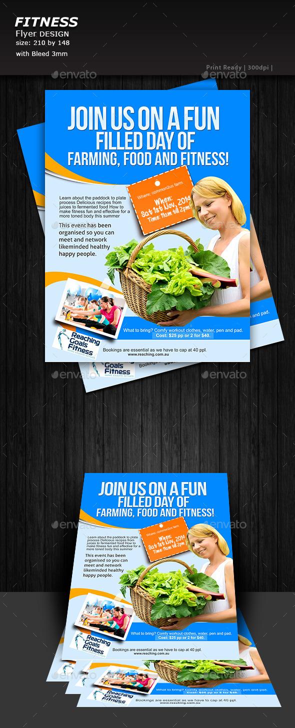 GraphicRiver Farming Flyer 9106463