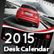 2015 Desk Calendar template - GraphicRiver Item for Sale