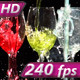 Stream of Brightly Colored Drinks - VideoHive Item for Sale