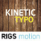 Kinetic Typo // Short Intro  - VideoHive Item for Sale
