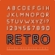 Retro Marquee Font - GraphicRiver Item for Sale