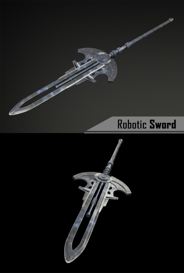 3DOcean Robotic Sword 9129363