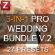 3-in-1 Pro Wedding Bundle vol.2 - GraphicRiver Item for Sale